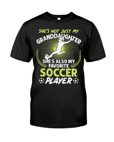 Granddaughter Soccer Player