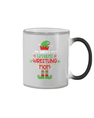 Santa's Favorite Wrestling Mom
