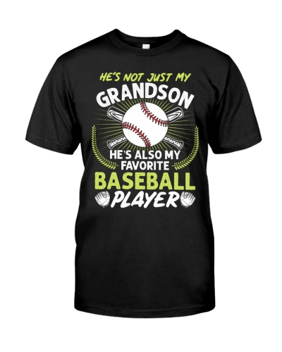 Grandson Baseball Player