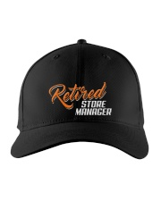 Retired Store Manager Embroidered Hat front