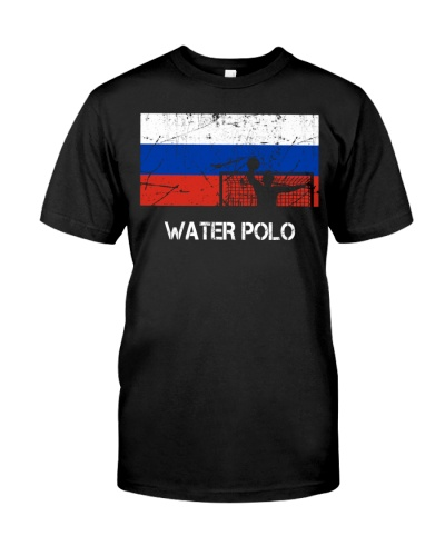Russia Flag Water Polo