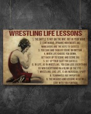 Wrestling Life 17x11 Poster aos-poster-landscape-17x11-lifestyle-12