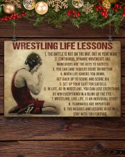 Wrestling Life 17x11 Poster aos-poster-landscape-17x11-lifestyle-27