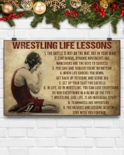 Wrestling Life 17x11 Poster aos-poster-landscape-17x11-lifestyle-28