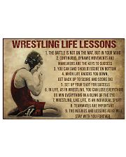 Wrestling Life 17x11 Poster front