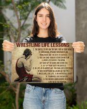 Wrestling Life 17x11 Poster poster-landscape-17x11-lifestyle-19