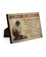 Wrestling Life 10x8 Easel-Back Gallery Wrapped Canvas thumbnail