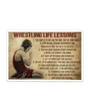 Wrestling Life Sticker - Single (Horizontal) thumbnail