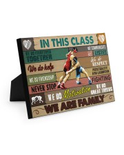 Wrestling In This Class 10x8 Easel-Back Gallery Wrapped Canvas thumbnail