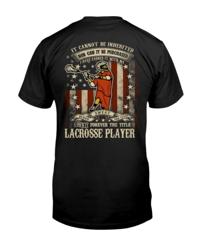 The Title Lacrosse Player
