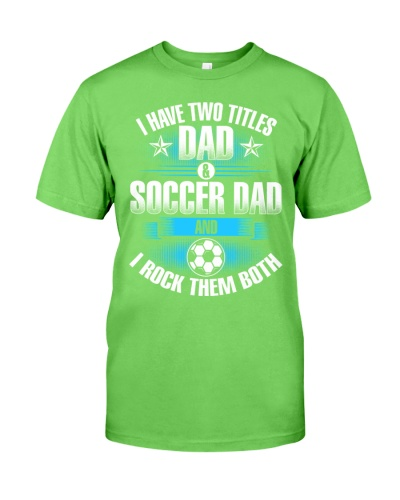 Dad and Dad Soccer
