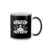 Bowling Bowlin Color Changing Mug thumbnail
