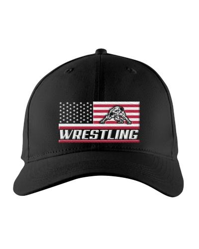Wrestling America Flag