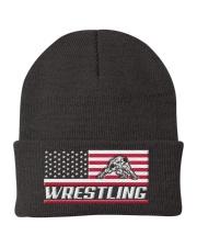 Wrestling America Flag Knit Beanie thumbnail