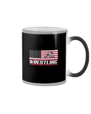 Wrestling America Flag Color Changing Mug thumbnail