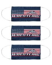 Wrestling America Flag Cloth Face Mask - 3 Pack thumbnail
