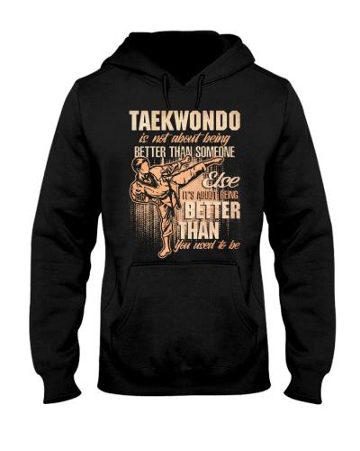 Taekwondo Is Not About