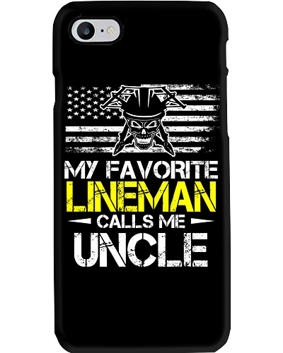 My Favorite Lineman Calls Me Uncle