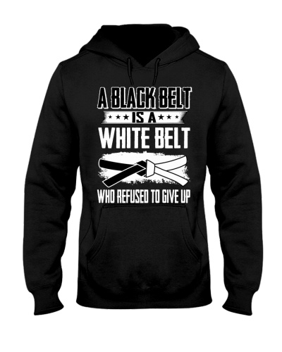 Black Belt Is A White Belt