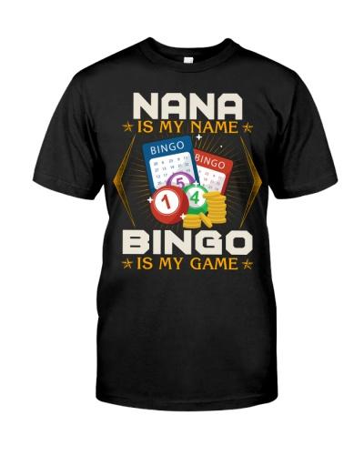 Nana Is My Name Bingo Is My Game