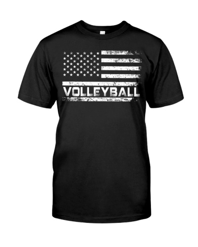 American Flag Volleyball
