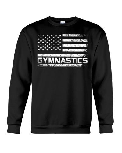 American Flag Gymnastics