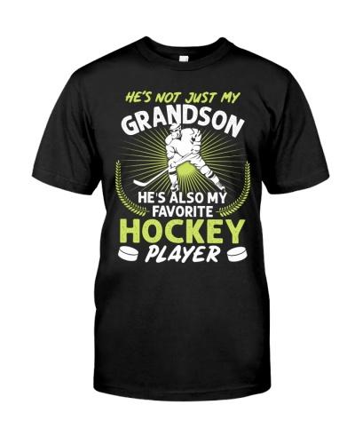 Grandson Hockey Player