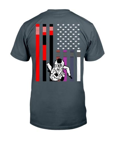 America Flag Brazilian Jiu jitsu Belts