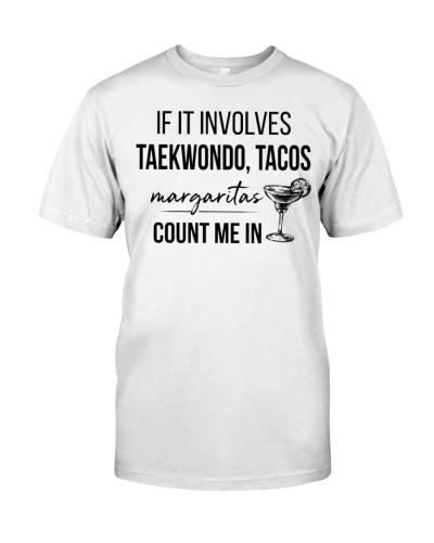 Taekwondo Tacos Margaritas