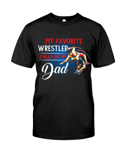 Wrestler Calls Me Dad