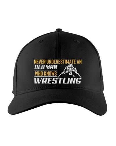 Old Man Knows Wrestling