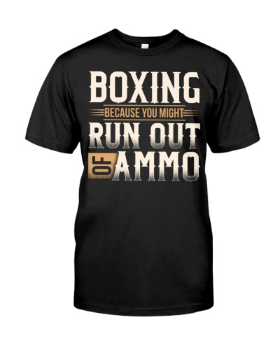 Boxing Because Run Out Of AMMO