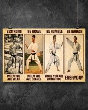Karate Be Strong 17x11 Poster aos-poster-landscape-17x11-lifestyle-12