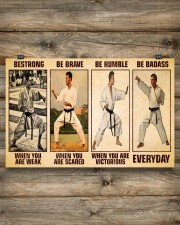 Karate Be Strong 17x11 Poster aos-poster-landscape-17x11-lifestyle-14