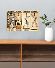 Karate Be Strong 17x11 Poster poster-landscape-17x11-lifestyle-24