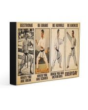 Karate Be Strong 14x11 Gallery Wrapped Canvas Prints thumbnail