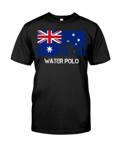 Australia Flag Water Polo