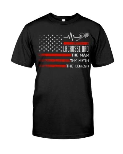 Lacrosse Dad  Man Myth Legend