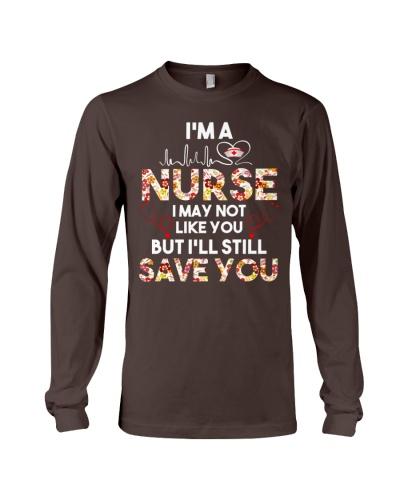 Nurse I Not Like You But Save You