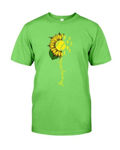 Softball Sunflower