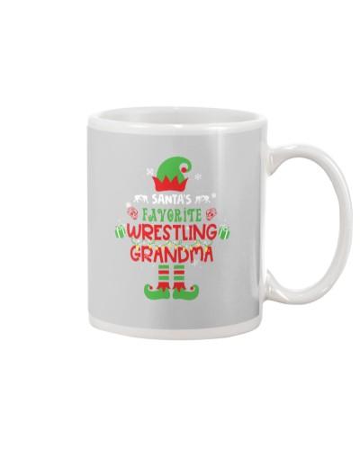 Santa's Favorite Wrestling Grandma