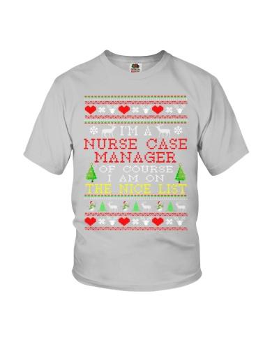 Nurse Case Manager Ugly Christmas