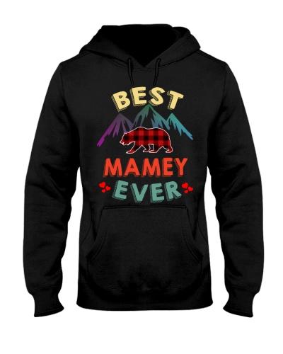 Best Mamey Bear Ever Xmas Red Plaid