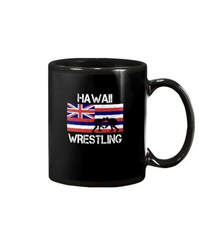 Hawaii State Flag Wrestling