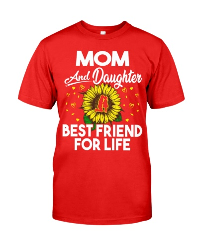Mom And Daughter Best Friend For Life Sunflower