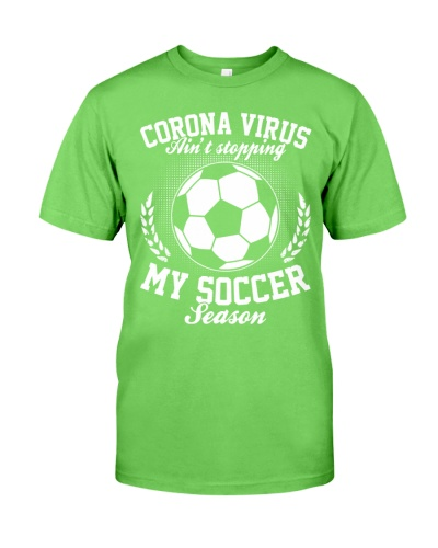 Corona Virus Aint Stopping My Soccer Season