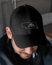 Wrestling Nebraska State Roots Embroidered Hat garment-embroidery-hat-lifestyle-02
