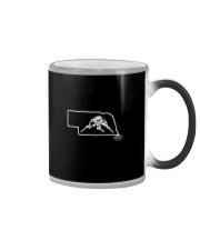 Wrestling Nebraska State Roots Color Changing Mug thumbnail