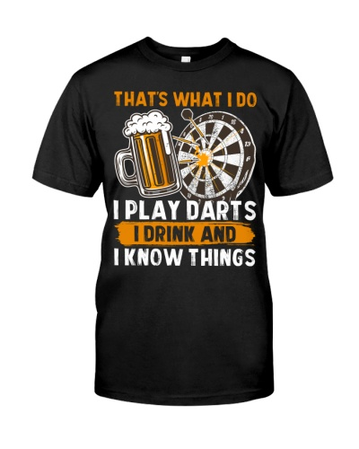 I Play Darts and Drink