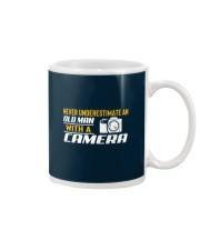 Photographer Old Man With A Camera Mug thumbnail